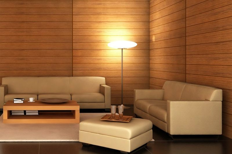 Ahorro energ tico con frisos para paredes y techos - Forrar paredes de madera ...