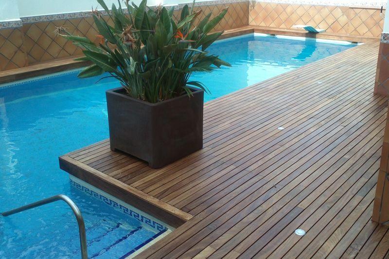 Tarima para piscina en quintanar de la orden - Tarima para piscinas ...