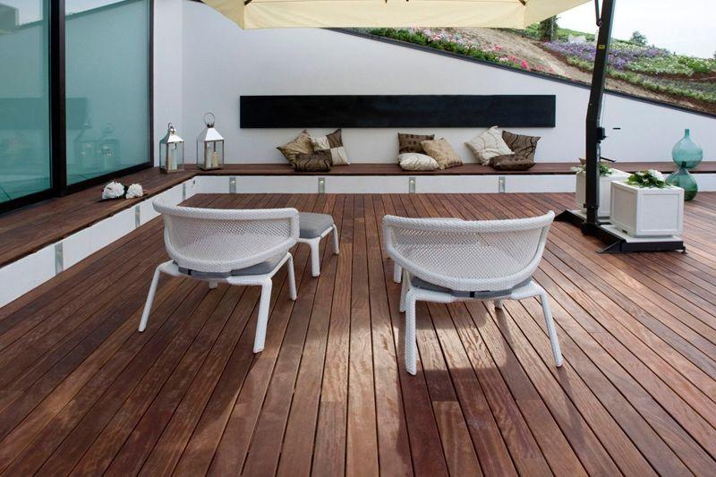 Tarimas de exterior tarimas para piscinas tarima jard n - Suelos de exterior para jardin ...